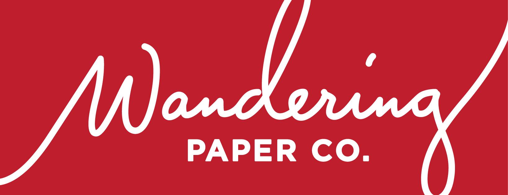 Wandering Paper Co. Logo