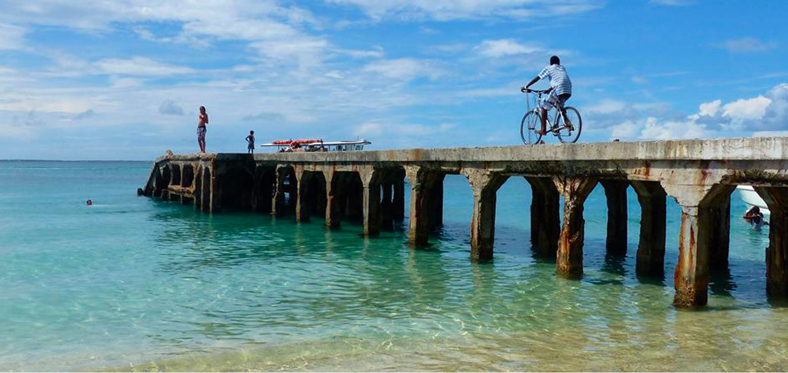 Bicycles on Grand Case Beach in St. Martin