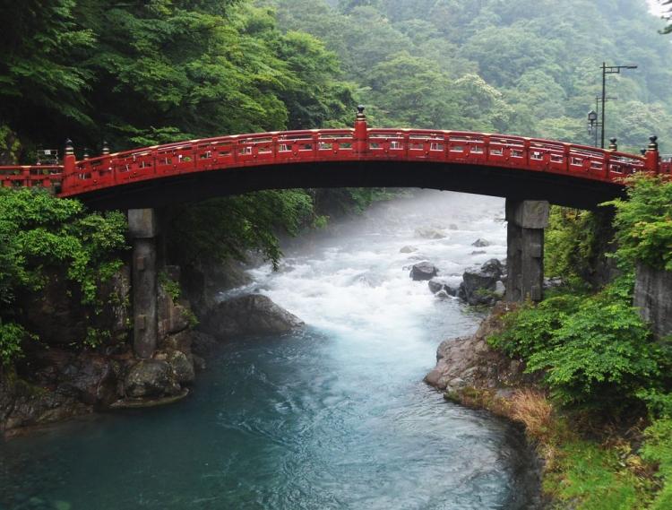 "The Shinkyō Bridge or ""Sacred Bridge"""