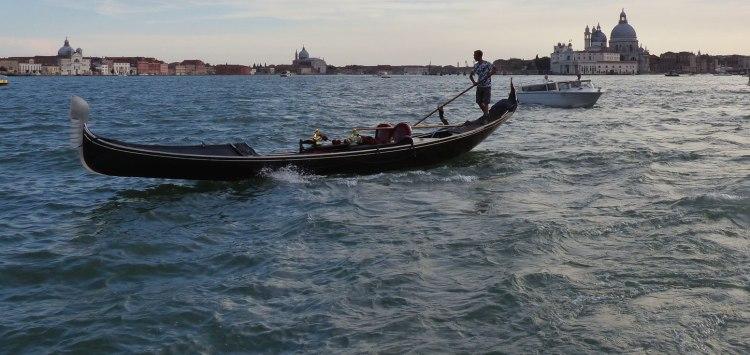 A gondola in Venice, Italy