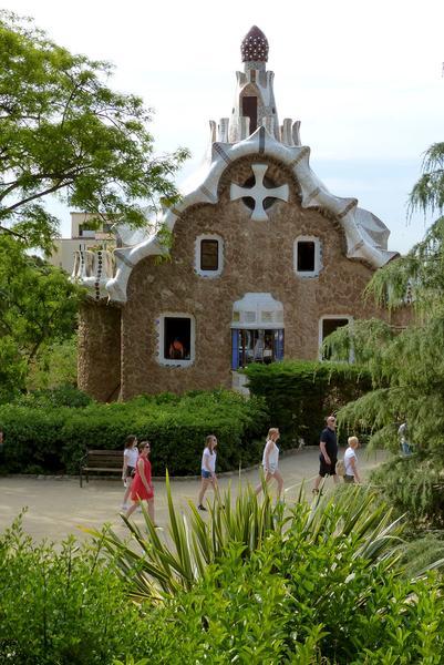 Park Güell, designed by Antoni Gaudí
