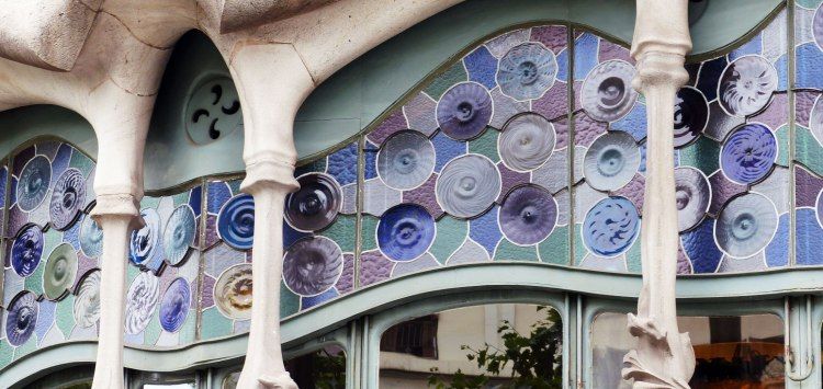 Detail of Casa Batllo