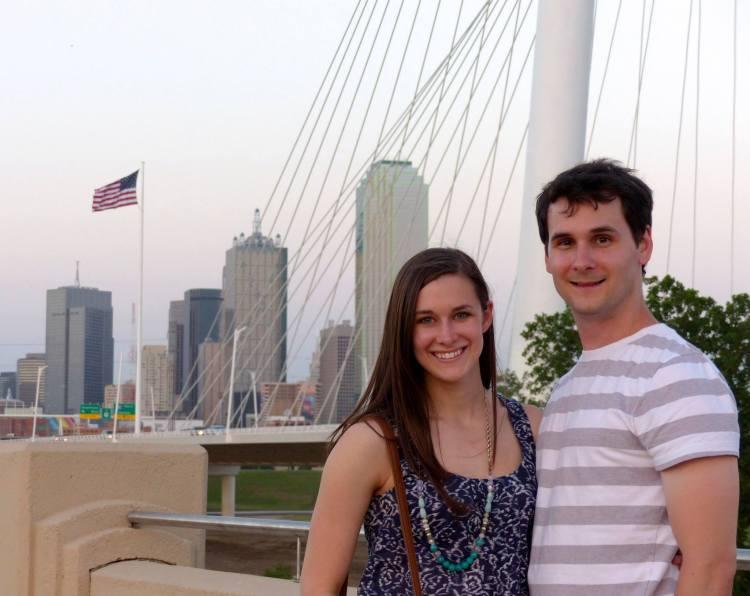 Philip and Alex in Trinity Groves, Dallas