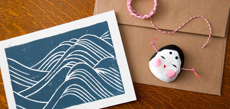Japanese Waves Print