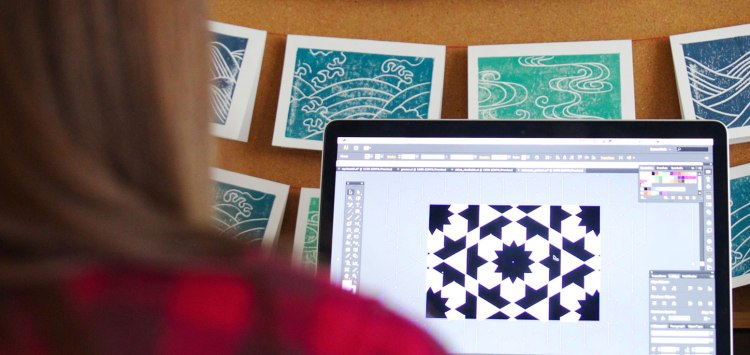 Editing print designs in Adobe Illustrator