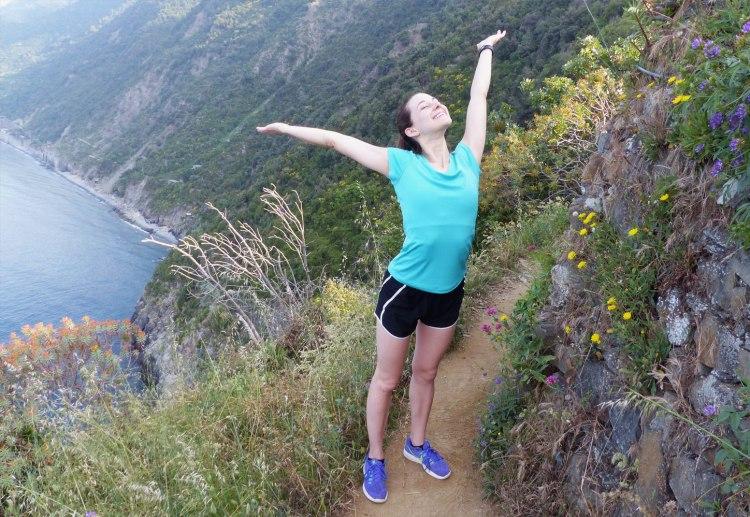 Hiking in Manarola, Cinque Terre