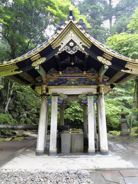 A Shrine in Nikko, Japan