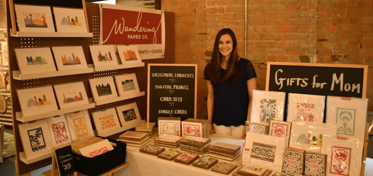 My Craft Fair Booth at Etsy Dallas Spring Bash
