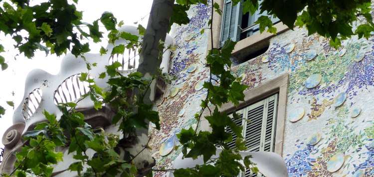 Detail of Casa Batllo