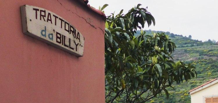 Trattoria da 'Billy' restaurant