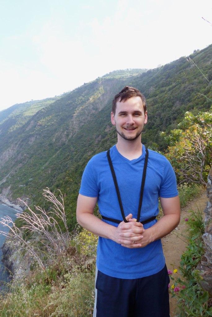 Hiking near Manarola, Cinque Terre, Italy